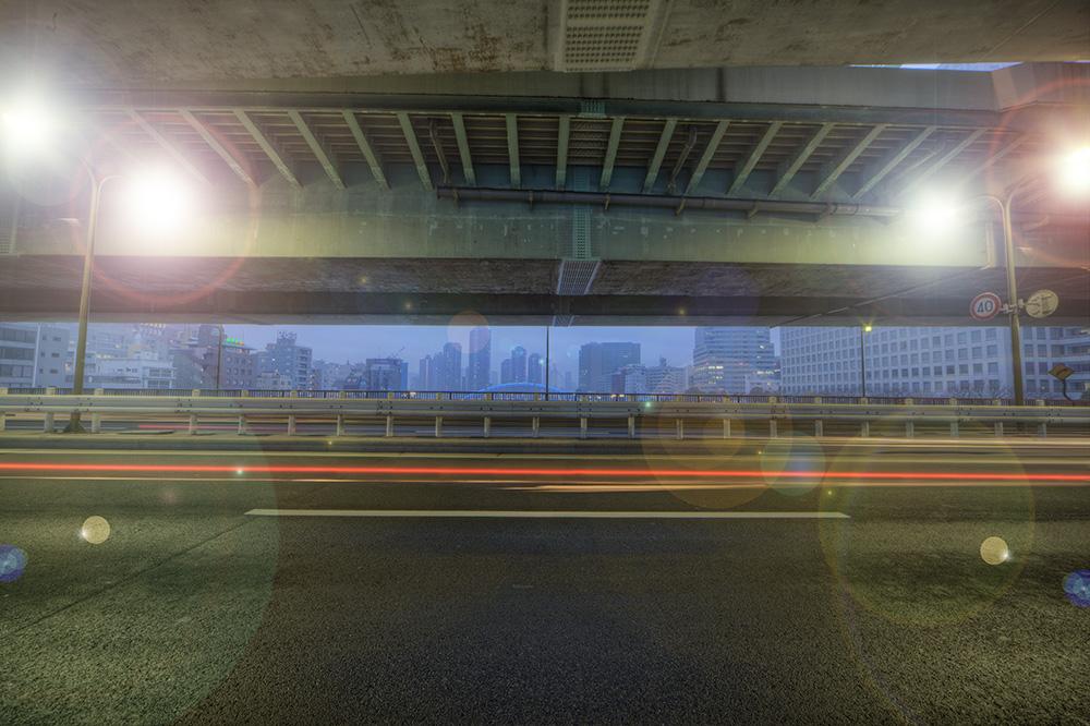 橋の上からnobiann