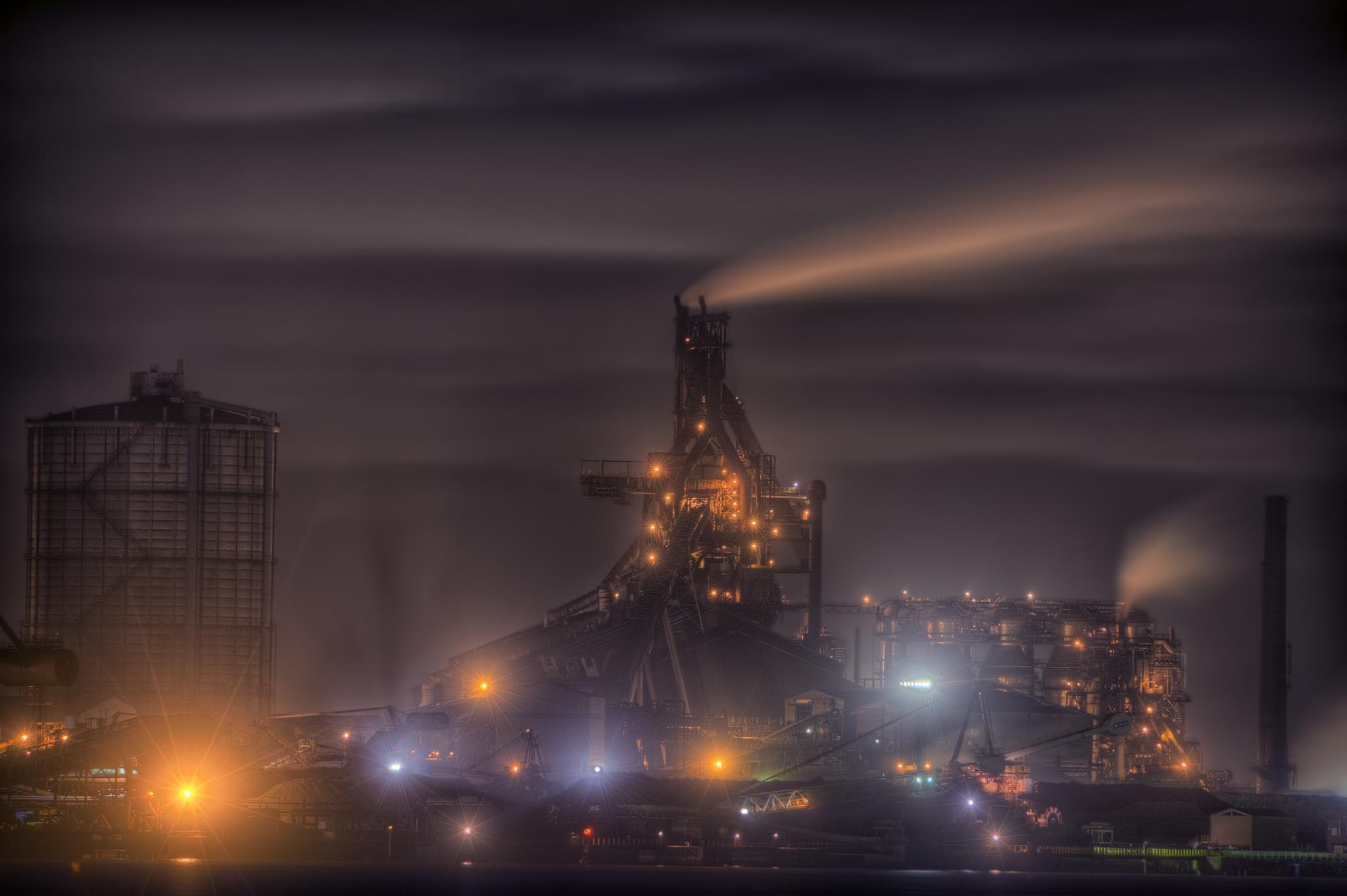 木更津港より高炉3+2048