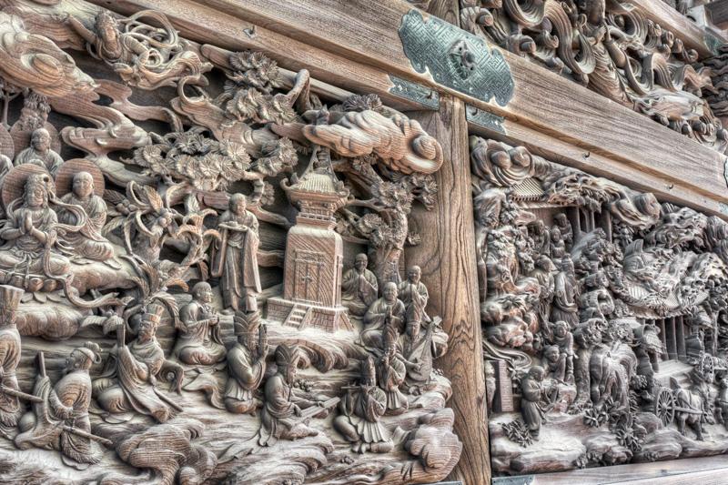 柴又帝釈天の彫刻1nobiann