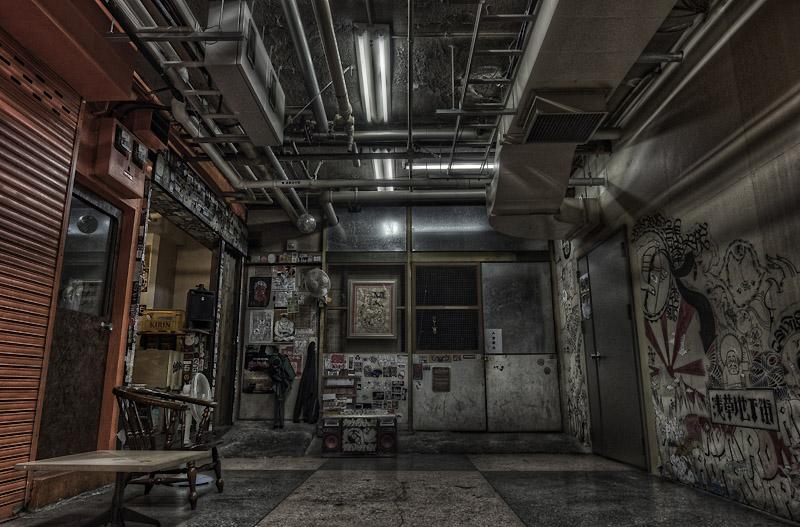 浅草地下街deepzone nobiann