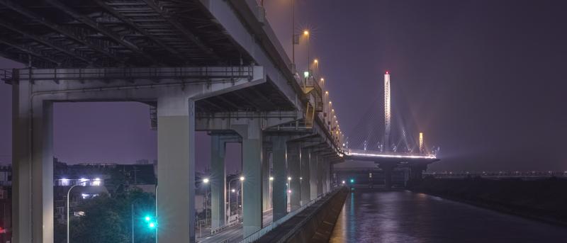 葛飾ハープ橋w