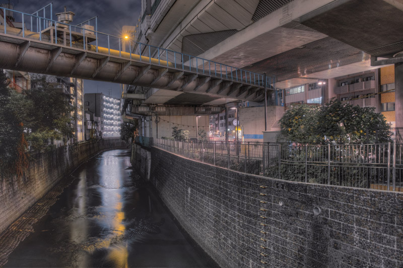 渋谷川から古川へw