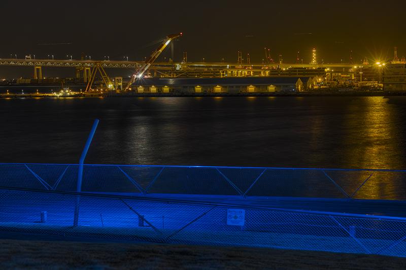 大桟橋から見えるクレーンnobiann