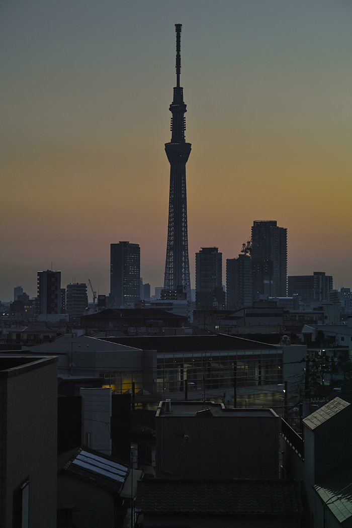 Tokyo skytree view from my office 2015 2 12 nobiann