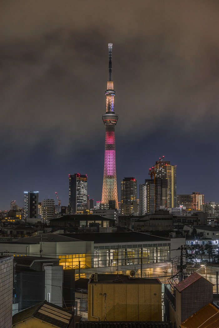 Tokyo skytree view from my office 2015 3 11nobiann