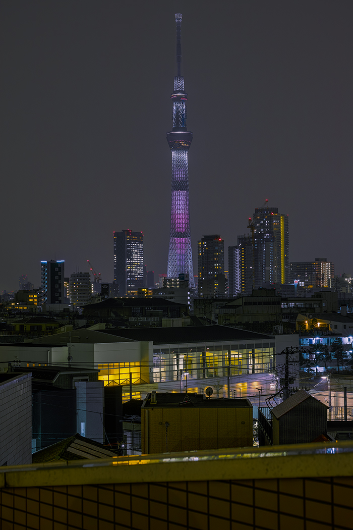 Tokyo skytree view from my office 2015 4 6nobiann