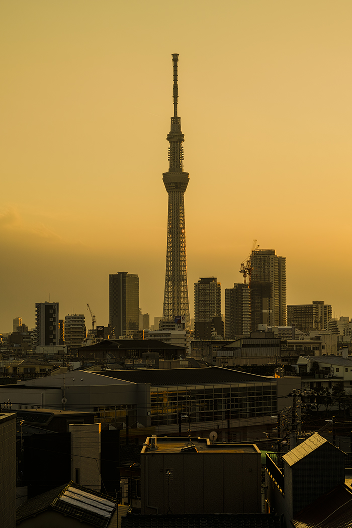 Tokyo skytree view from my office 2015 2 27nobiann