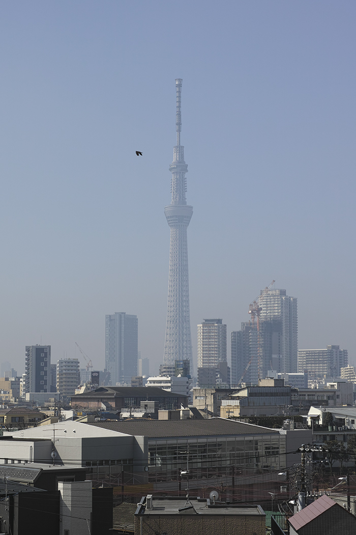 Tokyo skytree view from my office 2015 3 17nobiann