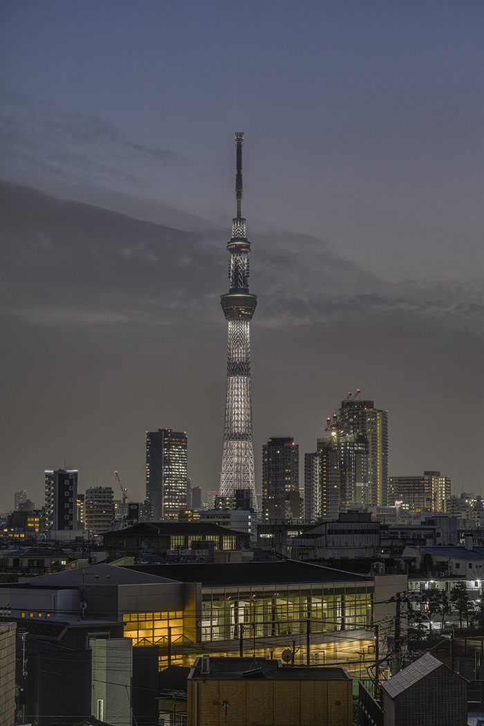 Tokyo skytree view from my office 2015 3 20nobiann